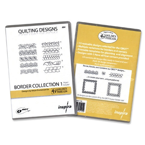 QBOT Border Collection 1 Designs by Golden Threads
