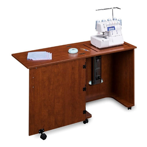 Compact Serger Cabinet in Sunset Cherry