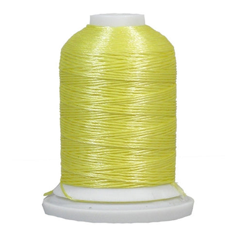YLI Designer 7 Polyester Floss in Lt. Yellow,250yd