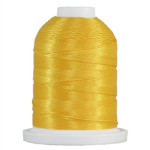 YLI Designer 7 Polyester Floss in Gold,250yd