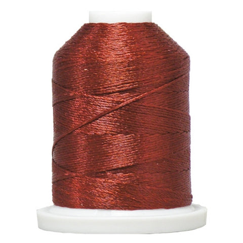 YLI Designer 7 Polyester Floss in Rust,250yd