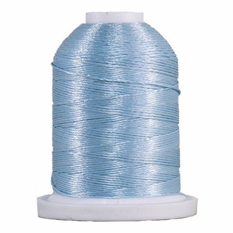 YLI Designer 7 Polyester Floss in Light Blue,250yd