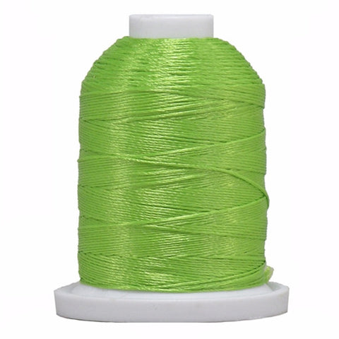 YLI Designer 7 Polyester Floss in Light Green,250yd