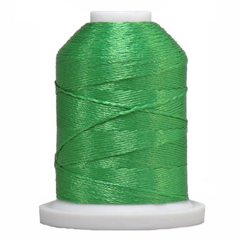YLI Designer 7 Polyester Floss in Kelly Green,250yd
