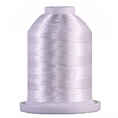 YLI Designer 7 Polyester Floss in White,250yd