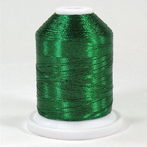 Robison-Anton Metallic in Emerald, 1000yd Spool