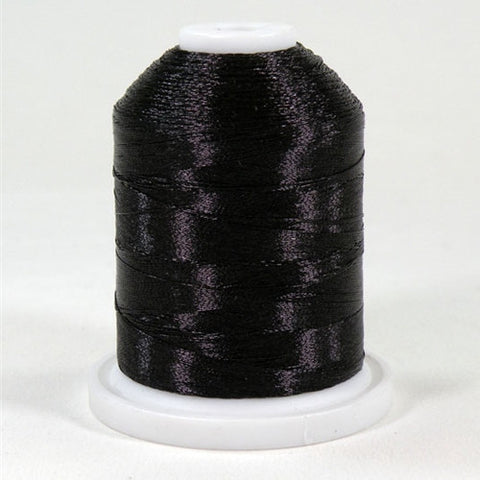 Robison-Anton Metallic in Black, 1000yd Spool