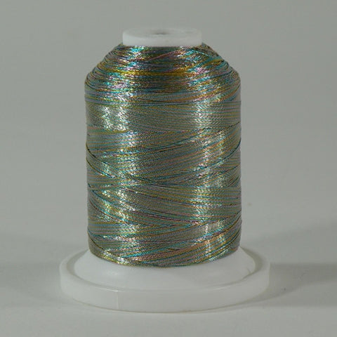 Robison-Anton Metallic in Multicolor, 1000yd Spool