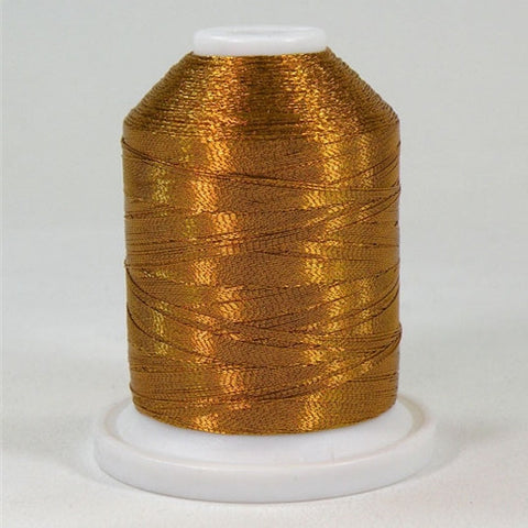 Robison-Anton Metallic in Brass, 1000yd Spool