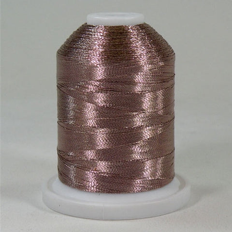 Robison-Anton Metallic in Beige, 1000yd Spool