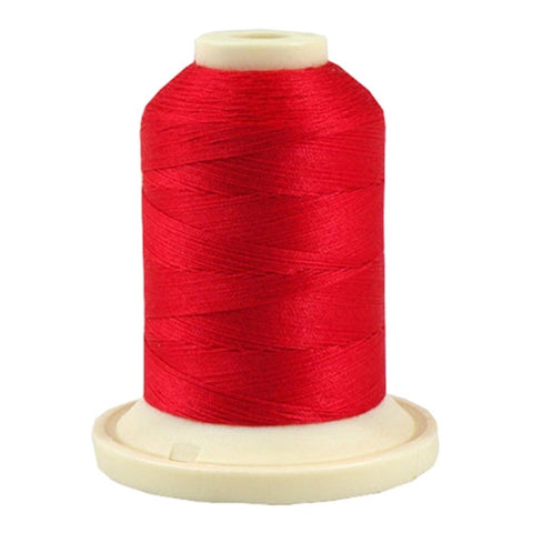 Robison-Anton 50wt Cotton in Foxy Red, 500yd Spool