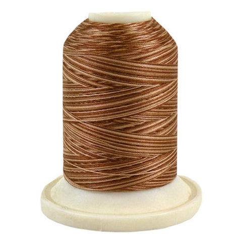 Robison-Anton 50wt Cotton in 3CC Brown, 500yd Spool