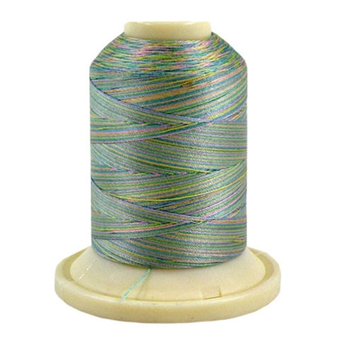 Robison-Anton 50wt Cotton in 4CC Pastel, 500yd Spool