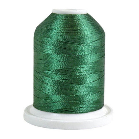 Robison-Anton 40wt Rayon in Fleece Green, 1100yd Spool