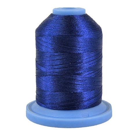 Robison-Anton Polyester in Chow Blue, 1100yd Spool
