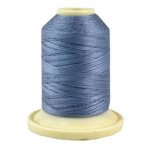 Thimbleberries 50wt Cotton in Blue Eyes, 500yd Spool
