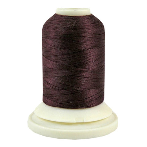 Thimbleberries 50wt Cotton in Eggplant, 500yd Spool