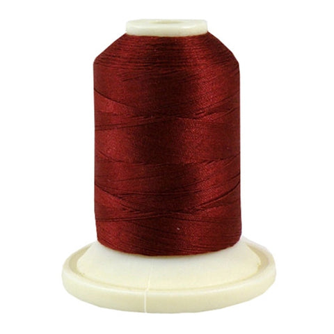 Thimbleberries 50wt Cotton in Wineberry, 500yd Spool