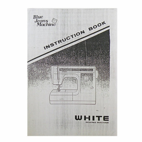 Instruction Book White 1523