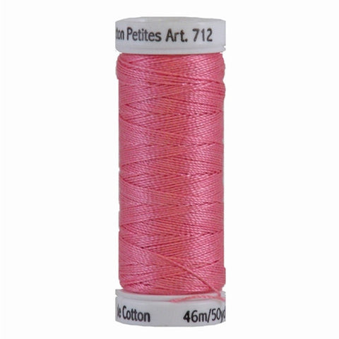 Sulky 12wt Cotton Petites in Dark Mauve, 50yd