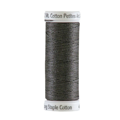 Sulky 12wt Cotton Petites in Almost Black, 50yd