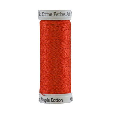 Sulky 12wt Cotton Petites in Orange Flame, 50yd