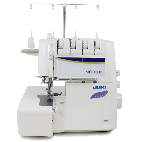 Juki MO 1000  2 Needle 2,3,4  Thread Overlock With Easy Air Threader And Differential Feed