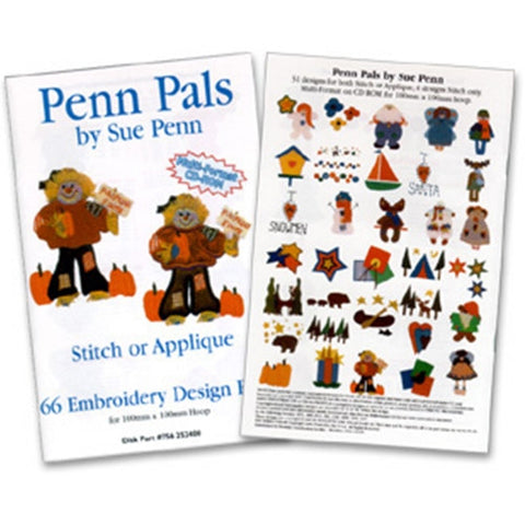 Penn Pals Design CD by Inspira