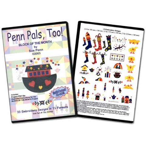 Penn Pals Too Design CD by Inspira
