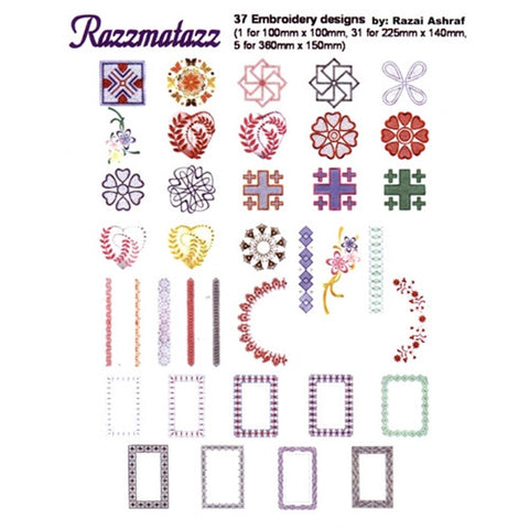 Razamatazz Design CD by Inspira
