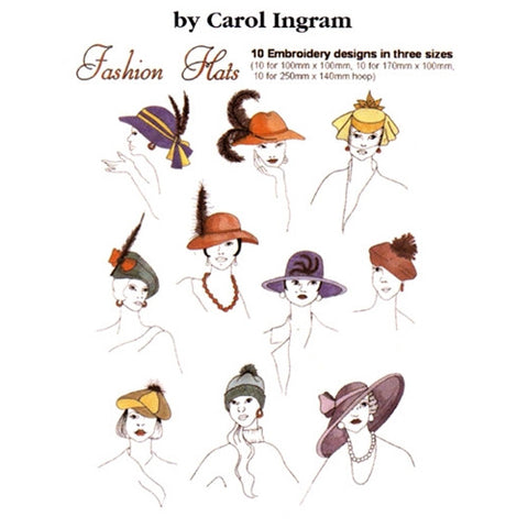 Fashion Hats Design CD by Inspira