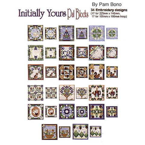 Initially Yours Pal Blocks Design CD by Inspira
