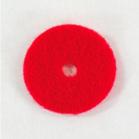 Red Felt Washer for any Sewing Machine Spool Pin