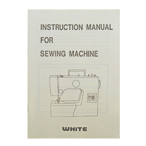 Instruction Book White 1525