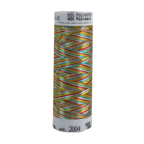 Mettler Metallic in Multicolor II, 110yd Spool