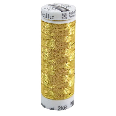 Mettler Metallic in Gold, 110yd Spool