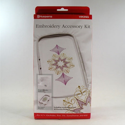 Embroidery Accessory Kit for Viking #1+, Rose, Iris,