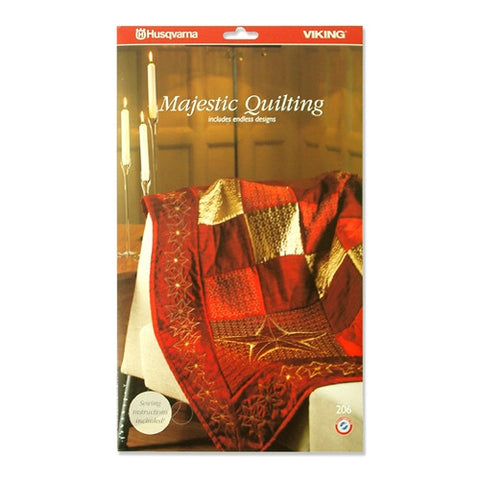 Majestic Quilting Embroidery CD #206