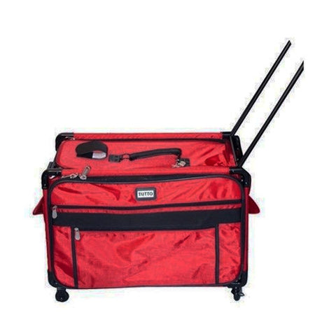 Tutto 2XL Red Machine Bag with Wheels & Handle