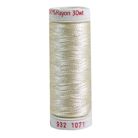 Sulky 30wt Rayon in Off White, 180yd Spool
