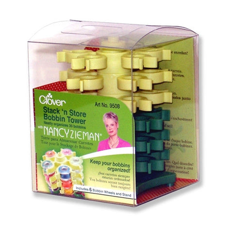 Nancy Zieman Stack 'N Store Bobbin Tower by Clover