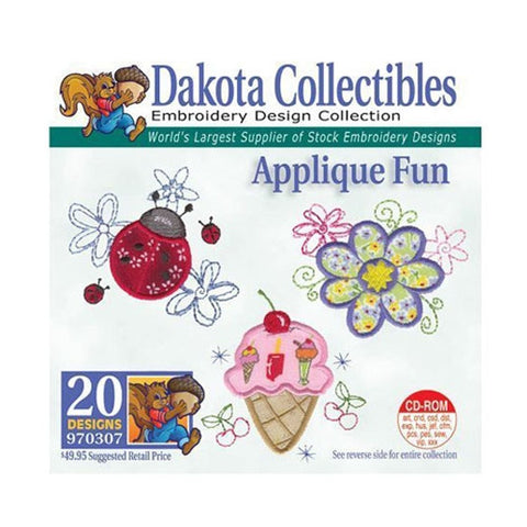 Dakota Collectibles Applique Fun Embroidery Design