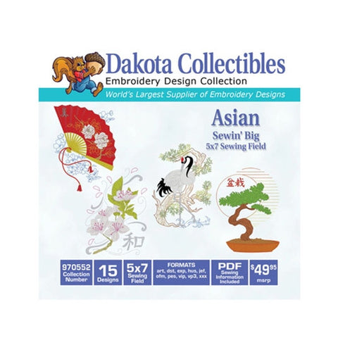 Dakota Collectibles Asian Designs