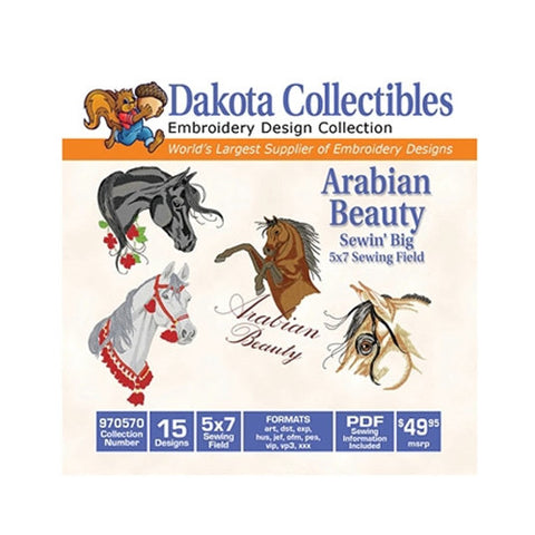 Dakota Collectibles Arabian Beauty Design