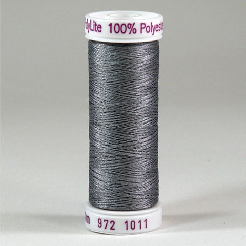 Sulky 60wt PolyLite in Steel Grey, 440yd Spool