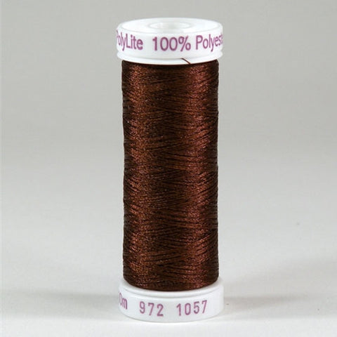 Sulky 60wt PolyLite in Dark Tawny Tan, 440yd Spool