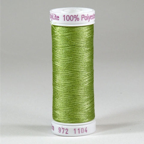 Sulky 60wt PolyLite in Pastel Yellow-Green, 440yd Spl
