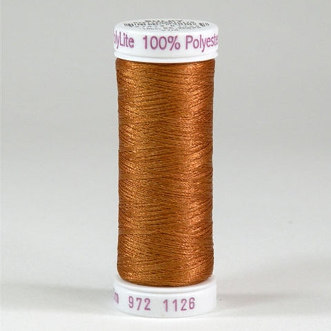 Sulky 60wt PolyLite in Tan, 440yd Spool