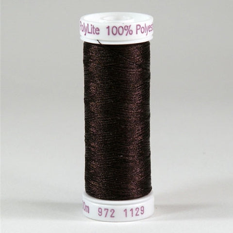 Sulky 60wt PolyLite in Brown, 440yd Spool