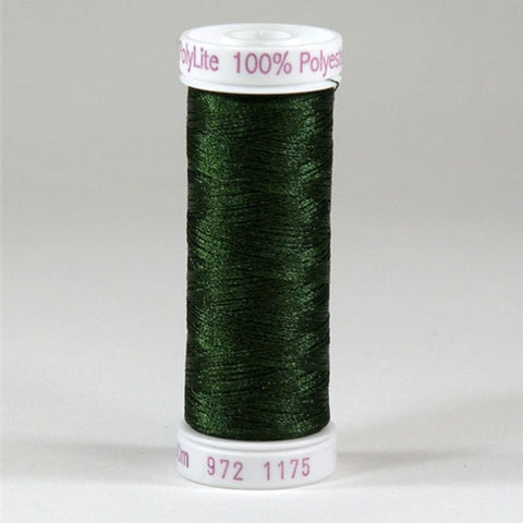 Sulky 60wt PolyLite in Dark Avocado, 440yd Spool
